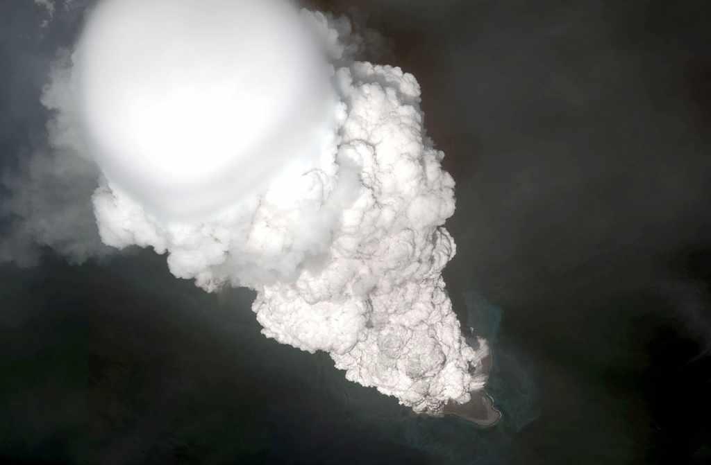 Zo klinkt een door vulkanen veroorzaakte donderslag