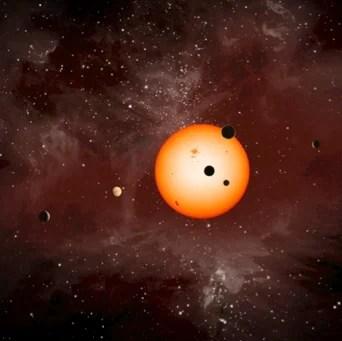 Kepler 11 planetary system