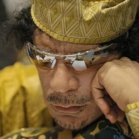 Col. Muammar Qaddafi in 2009