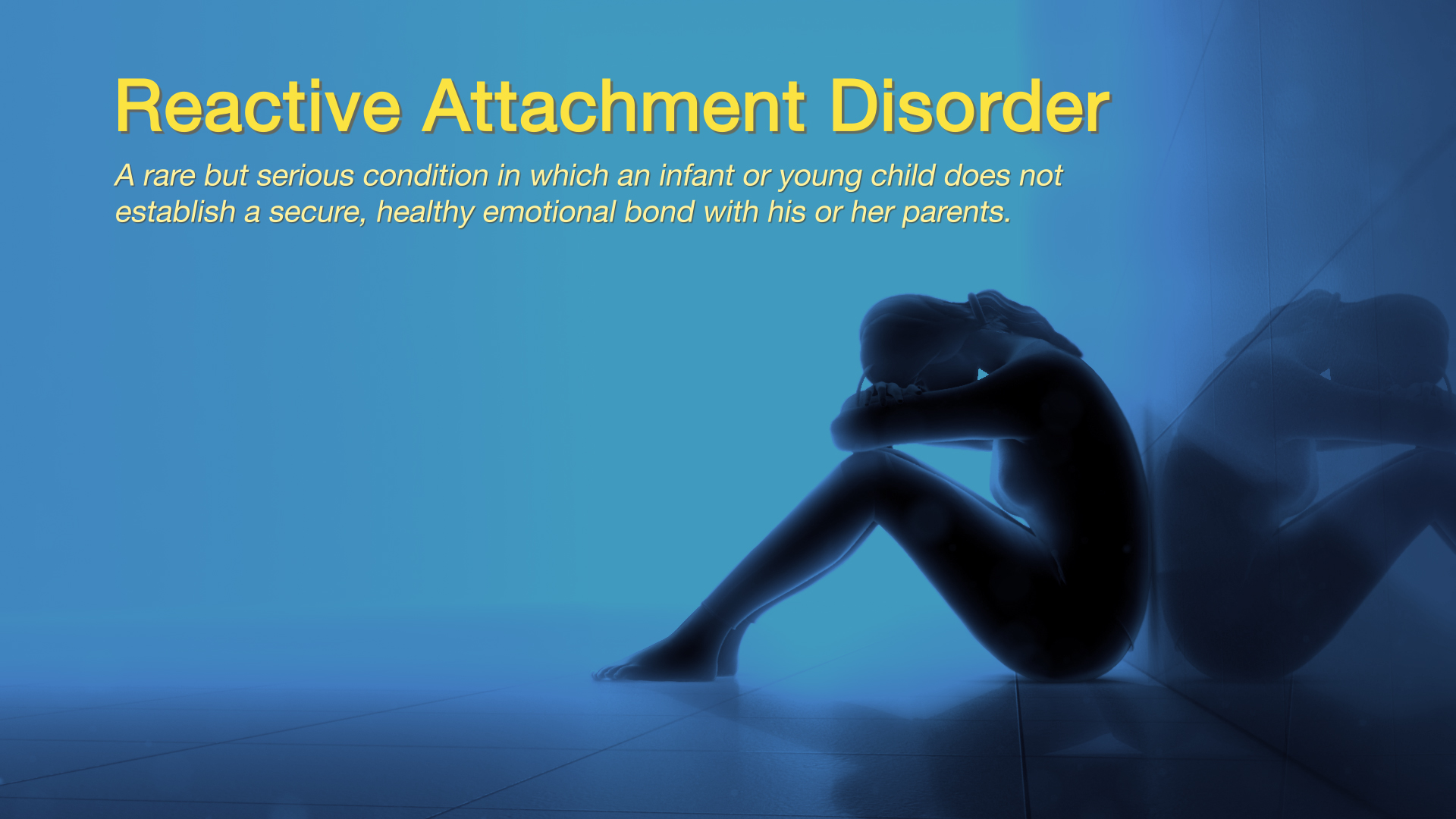 Reactive Attachment Disorder Explained Using A 3d Medical