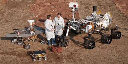 I rover marziani di NASA a confronto