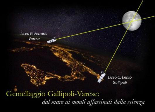 """Due scuole si uniscono per fare una misura """"storica"""" della distanza tra la Terra e la Luna."""