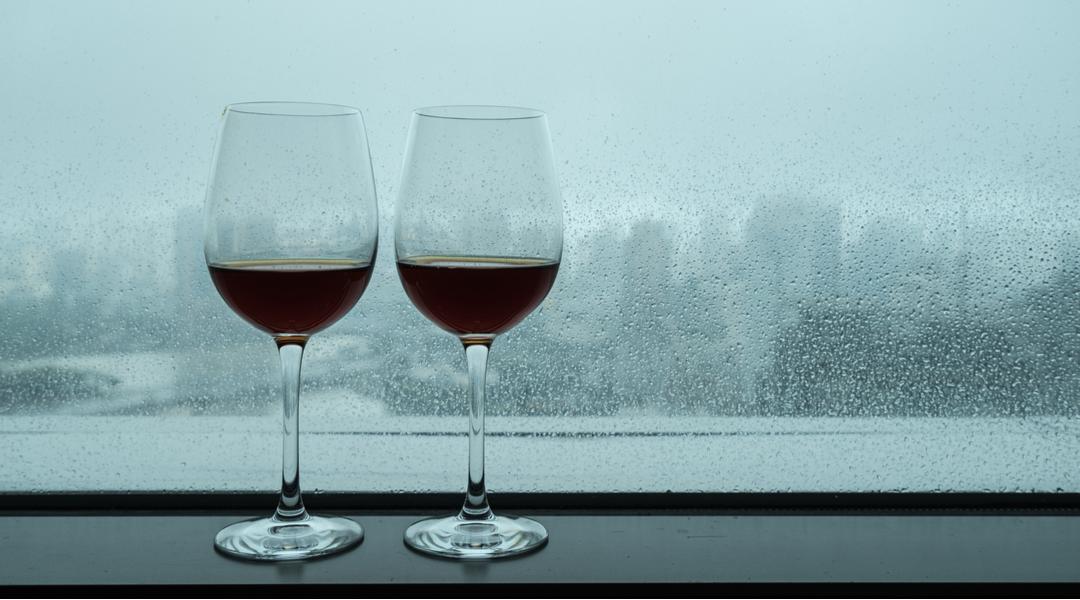 Meteoropatia bevendo Chianti