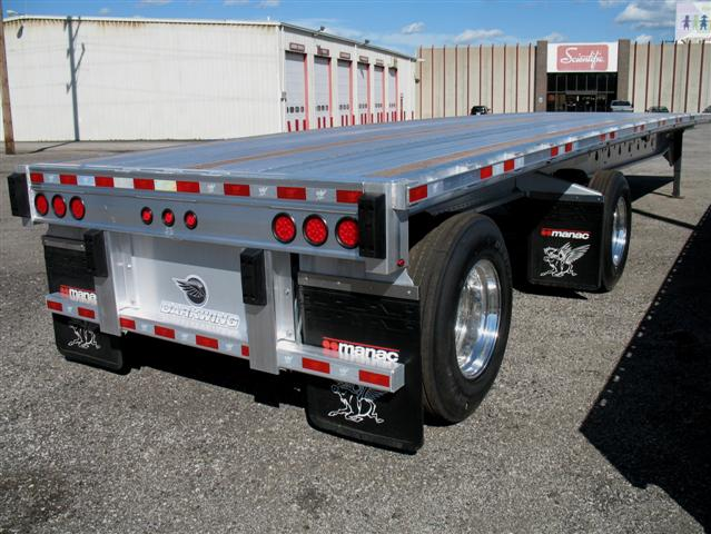 "2016 MANAC 48′ ""Darkwing"" Aluminum Flatbed"