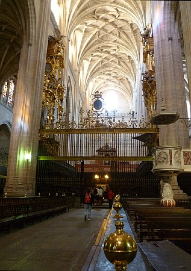 Interior of the Segovia Cathedral