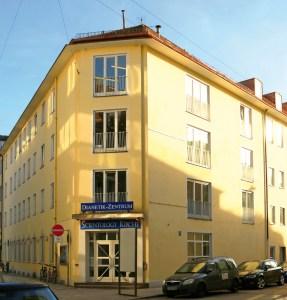 Das Gemeindehaus der Scientology Kirche Bayern e. V. in der Beichstraße in München Schwabing
