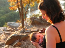 Breastfeeding over Harper's Ferry