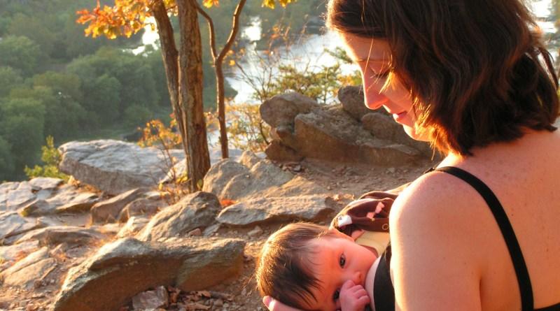 Breastfeeding over Harper's Ferry
