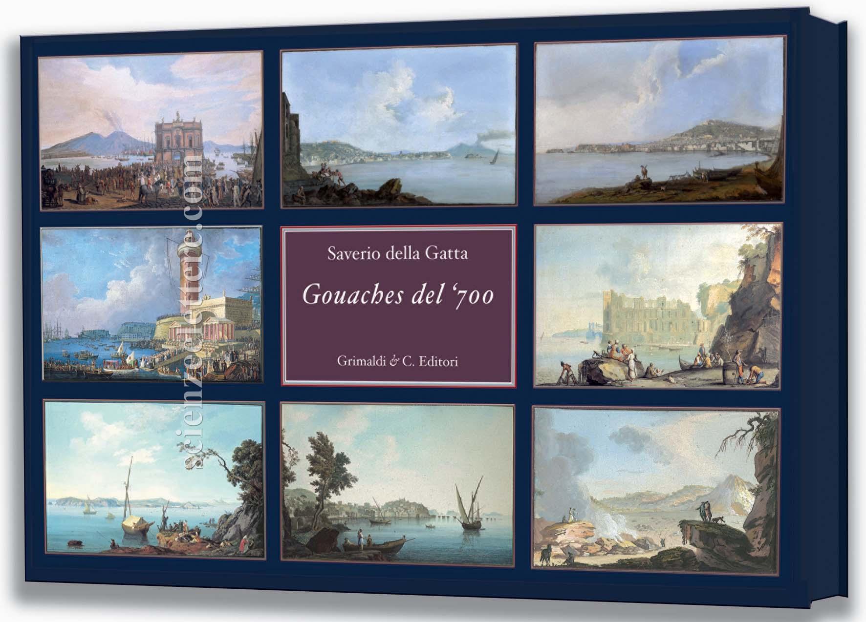 Gouaches del 700  Scienze e Lettere Casa Editrice  Rome Italy