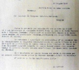 1948-05-18 Garry Bertini dalla scuola UNRRA Cadorna di Milano a Selvino