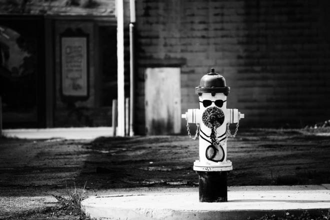 Funky Fire Hydrant