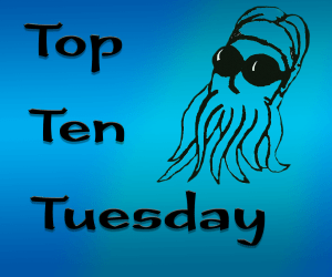 Top Ten Tuesday Banner for The Future of Book Characters