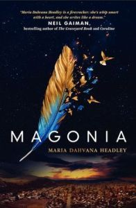 Book cover for Magonia
