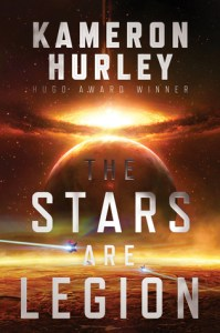 Book cover for The Stars are Legion by Kameron Hurley