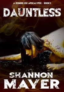 Book cover for Dauntless by Shannon Mayer