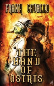 Book cover for The Hand of Osiris by Frank Cavallo