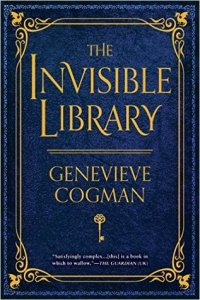 Book cover for The Invisible Library by Genevieve Cogman