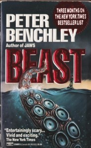 Book cover for Beast by Peter Benchley