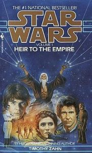 Book cover for Star Wars: Heir to the Empire