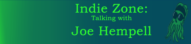 Banner for interview with Joe Hemphel