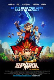 Movie poster for Spark A Space Tail