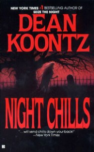 Book cover for Night Chills by Dean Koontz