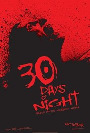 Movie cover for 30 Days of Night