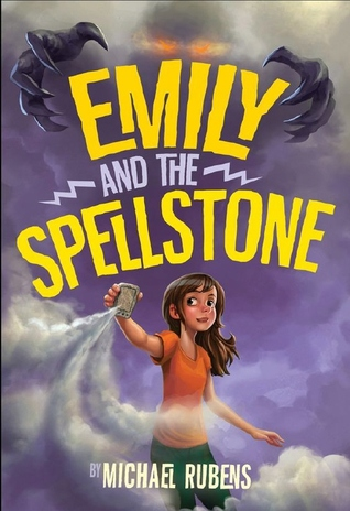Book cover for Emily and the Spellstone