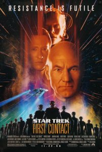 Book cover for Star Trek: First Contact