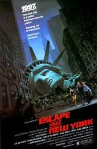 Movie cover for Escape from New York