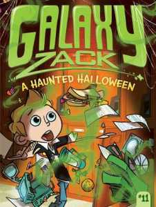 Book cover for A Haunted Halloween
