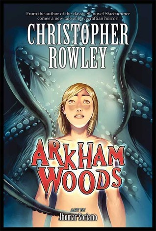 Book cover for Arkham Woods