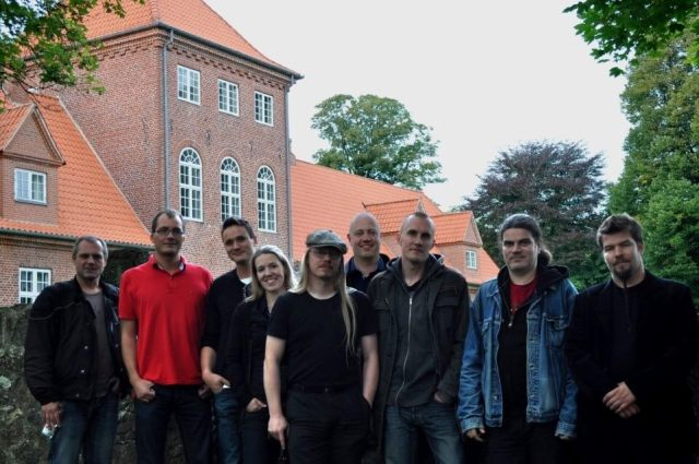 Picture of the founding members of the Danish Horror Society