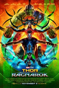 Movie cover for Thor Ragnarok