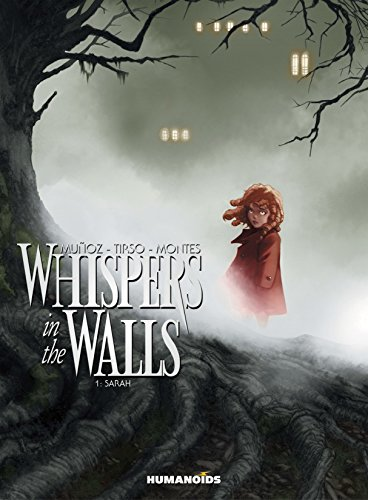 Book cover for Whispers in the Walls Vol 1: Sarah