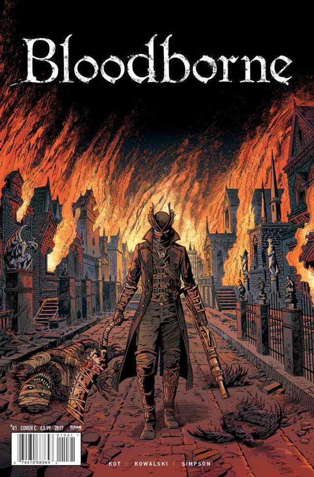 Bloodborne Cover C