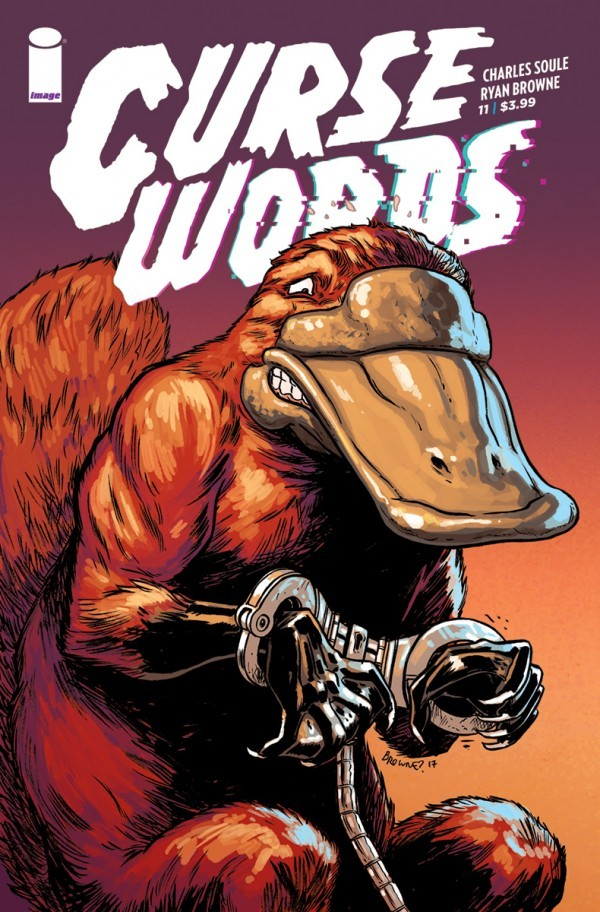 Book cover for Curse Words 11