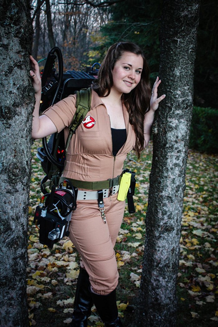 Female Ghostbuster Cosplay  SciFi Design