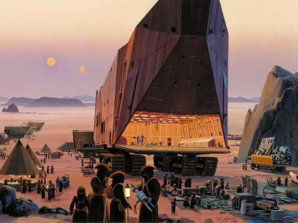 Ralph Mcquarrie Concept Art Original Star Wars