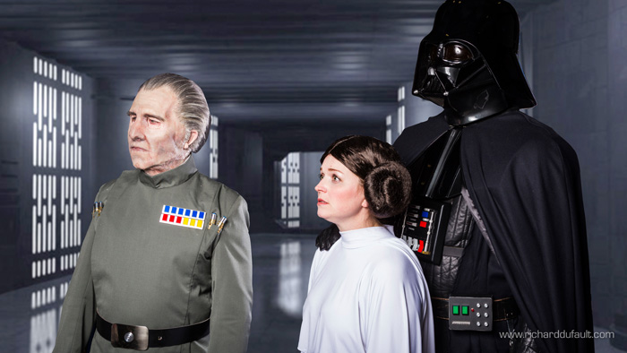Princess Leia Darth Vader  Grand Moff Tarkin Star Wars