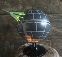 This Death Star Lamp Is Fully Operational - Sci-Fi Design