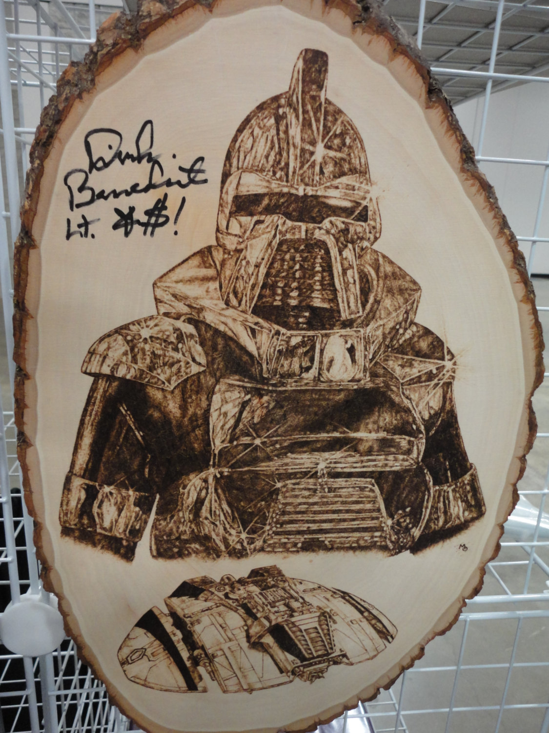 Sci Fi Wood Burning Art Sci Fi Design