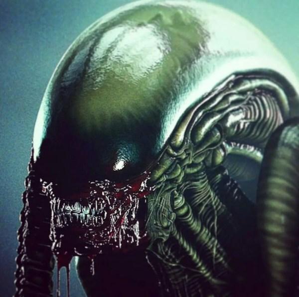 Alien vs Predator Art