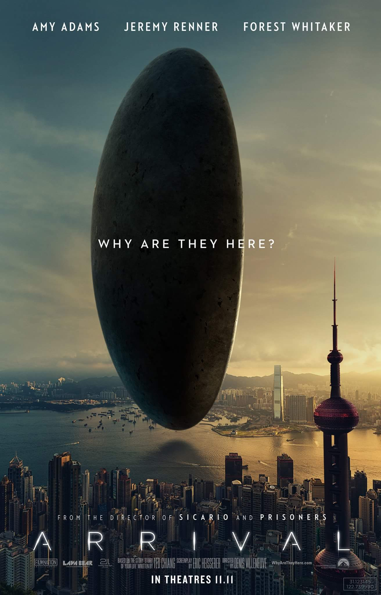 Image result for the arrival movie poster
