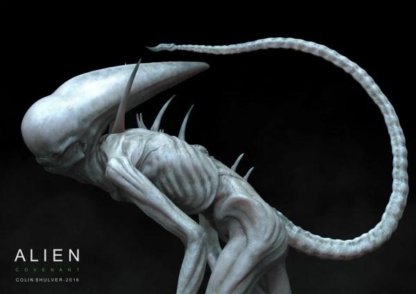 Neomorph Concept Colin Shulver - Alien Covenant