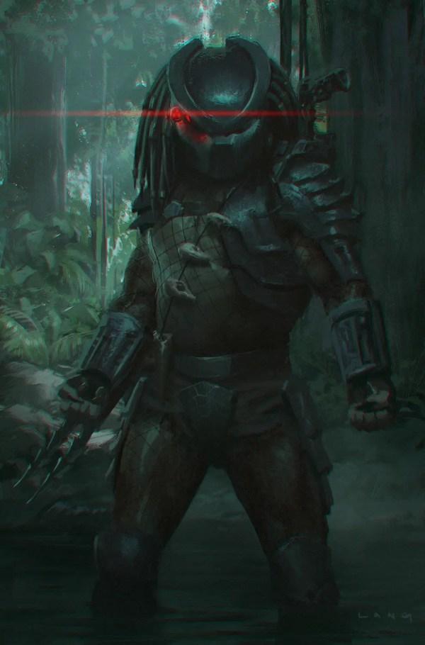 Predator Concept Sketch