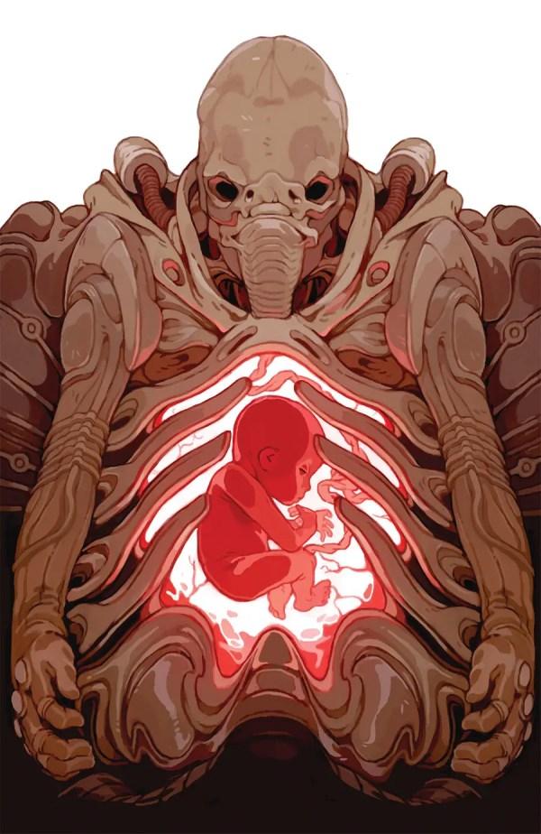 Prometheus Life And Death #1 - Engineer Artwork