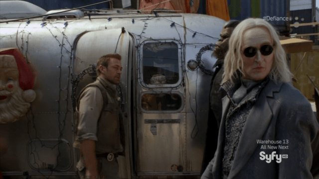 Datak and Nolan do some investigating - Defiance