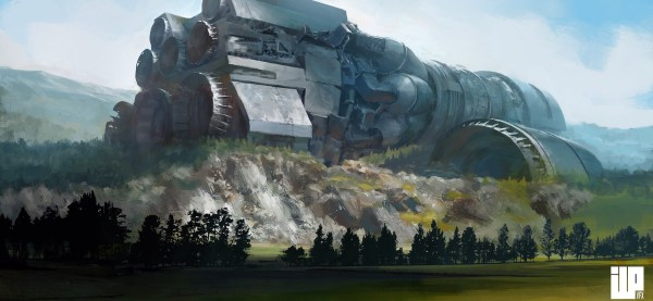 Fantastic Works Of Alexander Forssberg Sci-fi Art