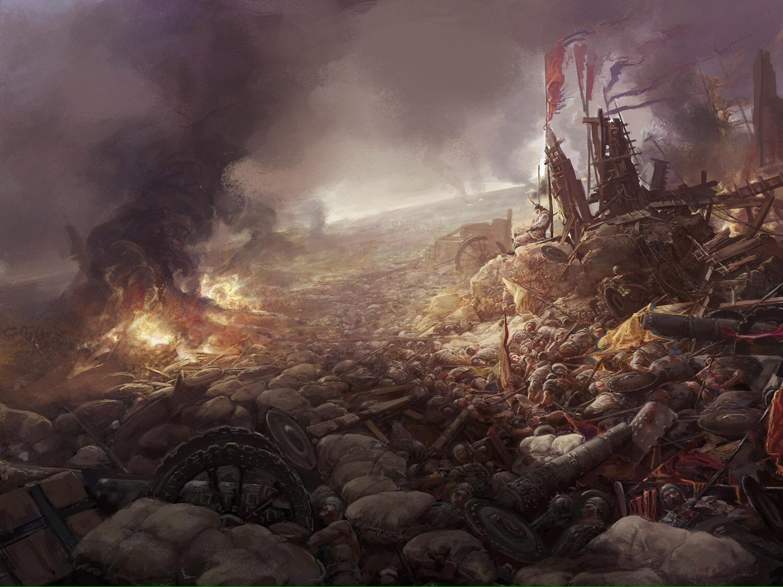 The Witcher 3 3d Wallpaper The Superb Digital Fantasy Art Of Fenghua Zhong Artist